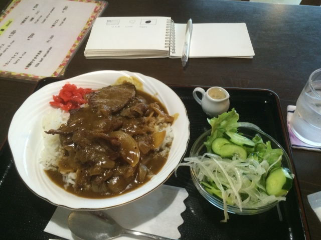 I would go back to Japan just for this curry
