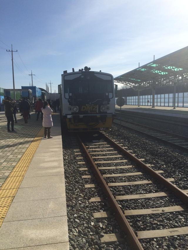The DMZ train